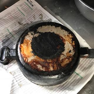 ソコフを塗った鍋