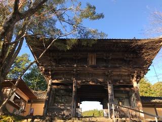神護寺山門
